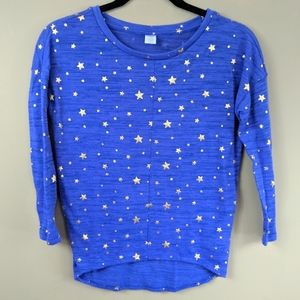 Old Navy Girl's Light Weight Star Sweater Sz L